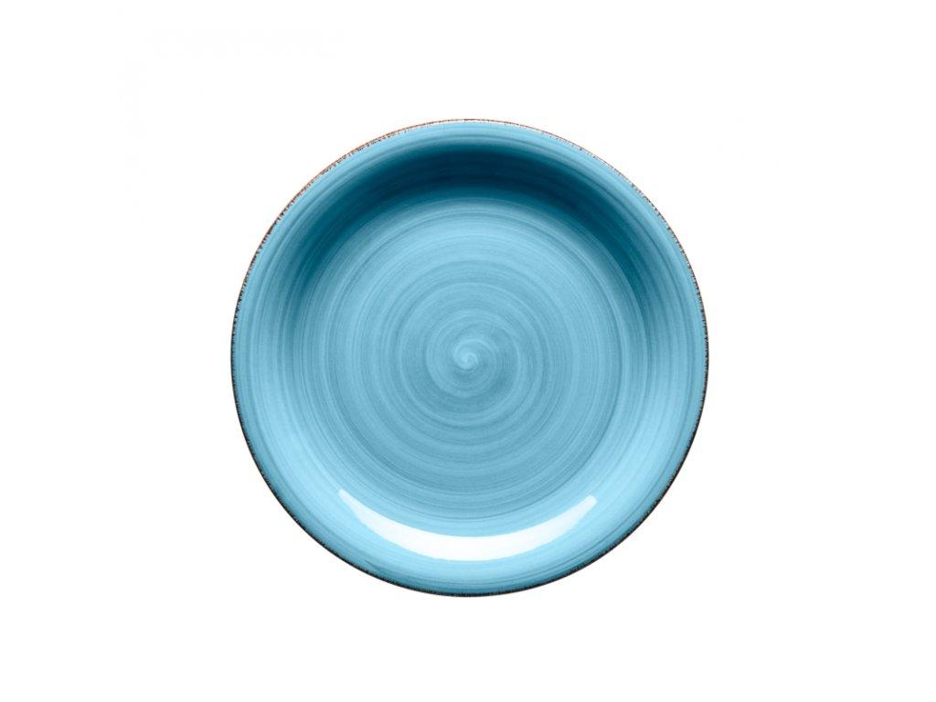 BEL TEMPO talíř desertní 19,5 cm tm. modrý