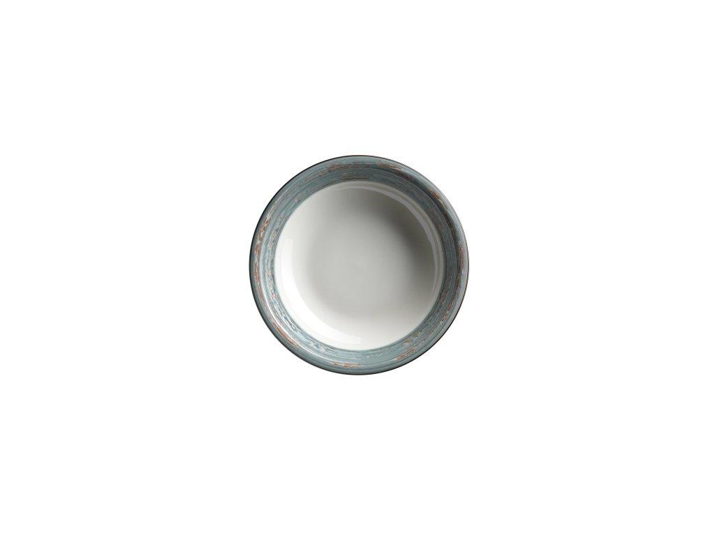 DUOLE talíř hluboký modrý 21,5 cm