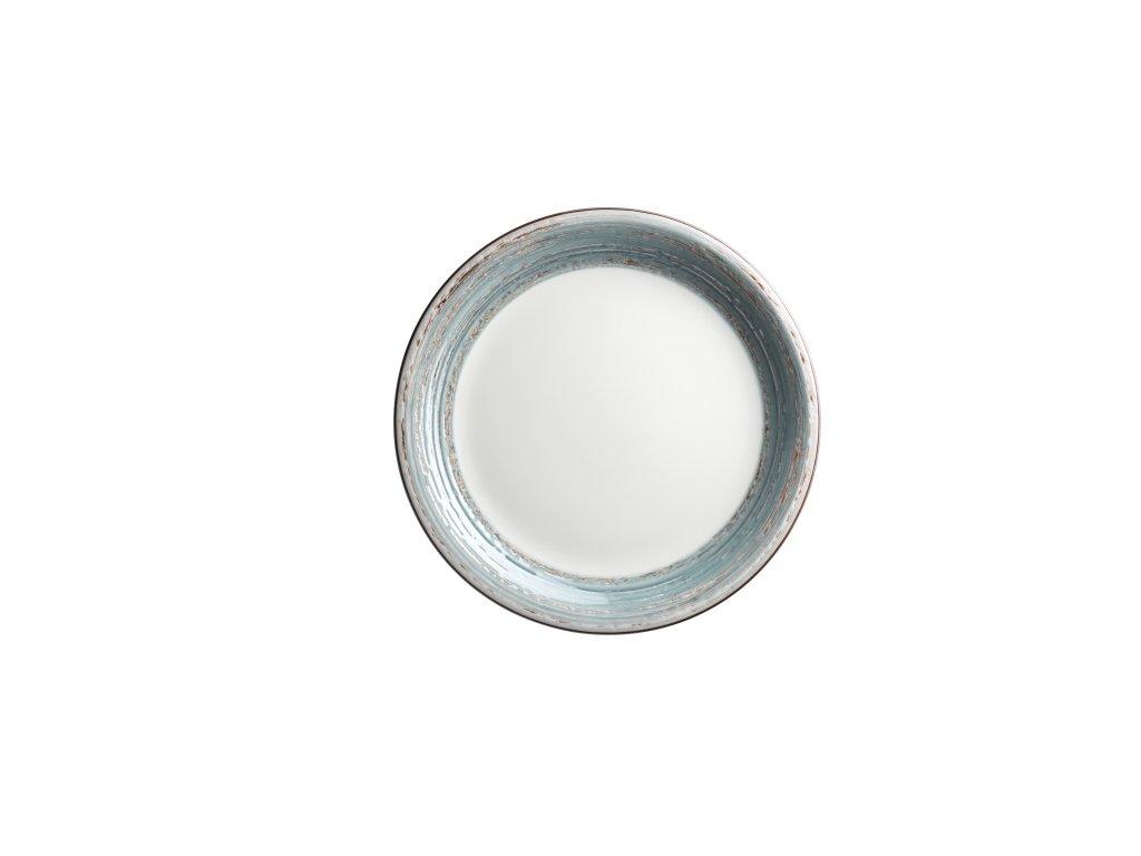DUOLE talíř plochý modrý 27 cm