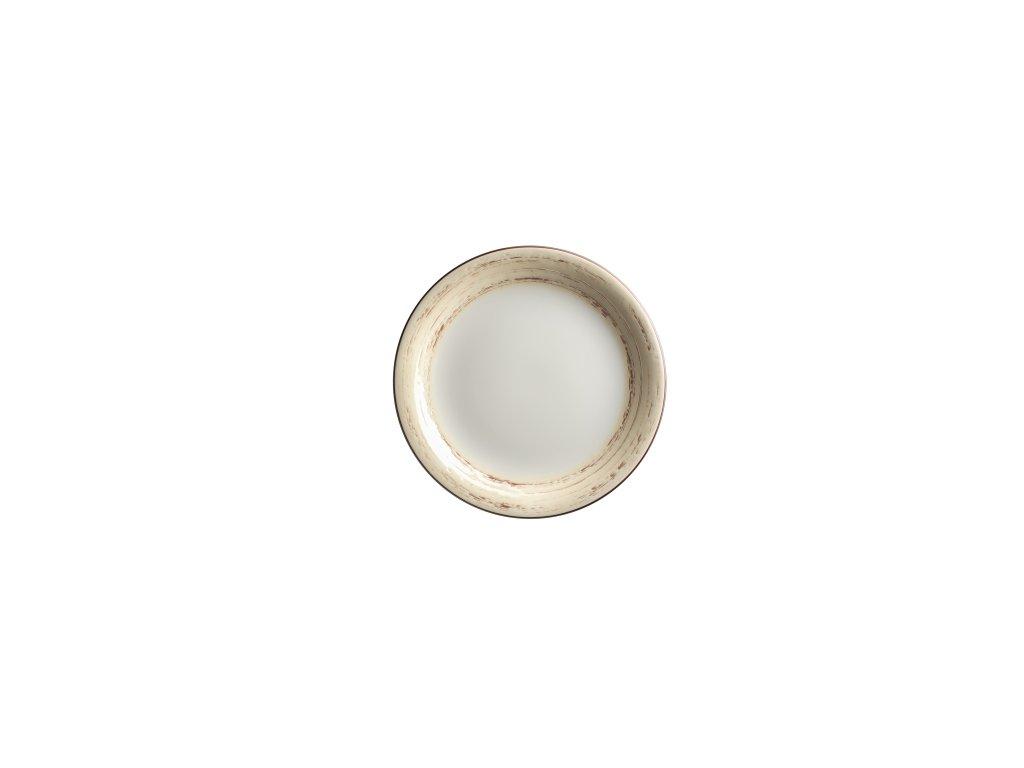 DUOLE talíř desertní béžový 19 cm