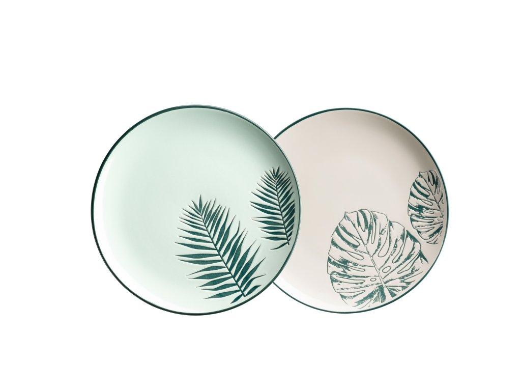 PETRONIA talíř desertní 20,6 cm 2 dekory