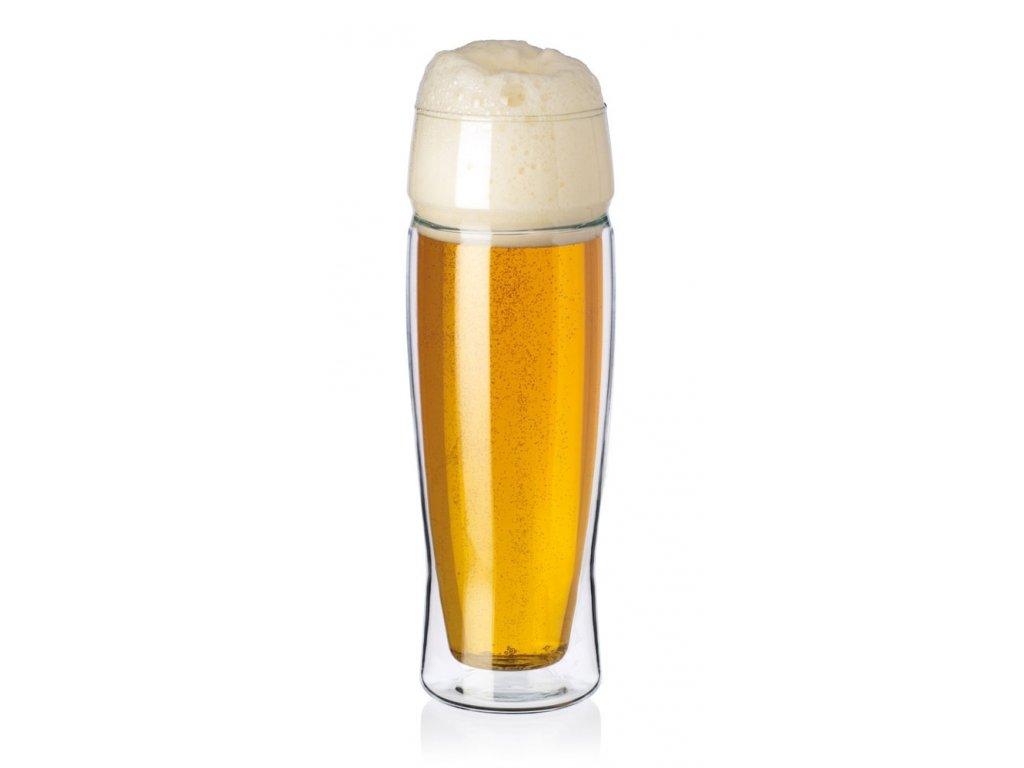 EXCLUSIVE pivní sklo dvoustěnné 0,5 l