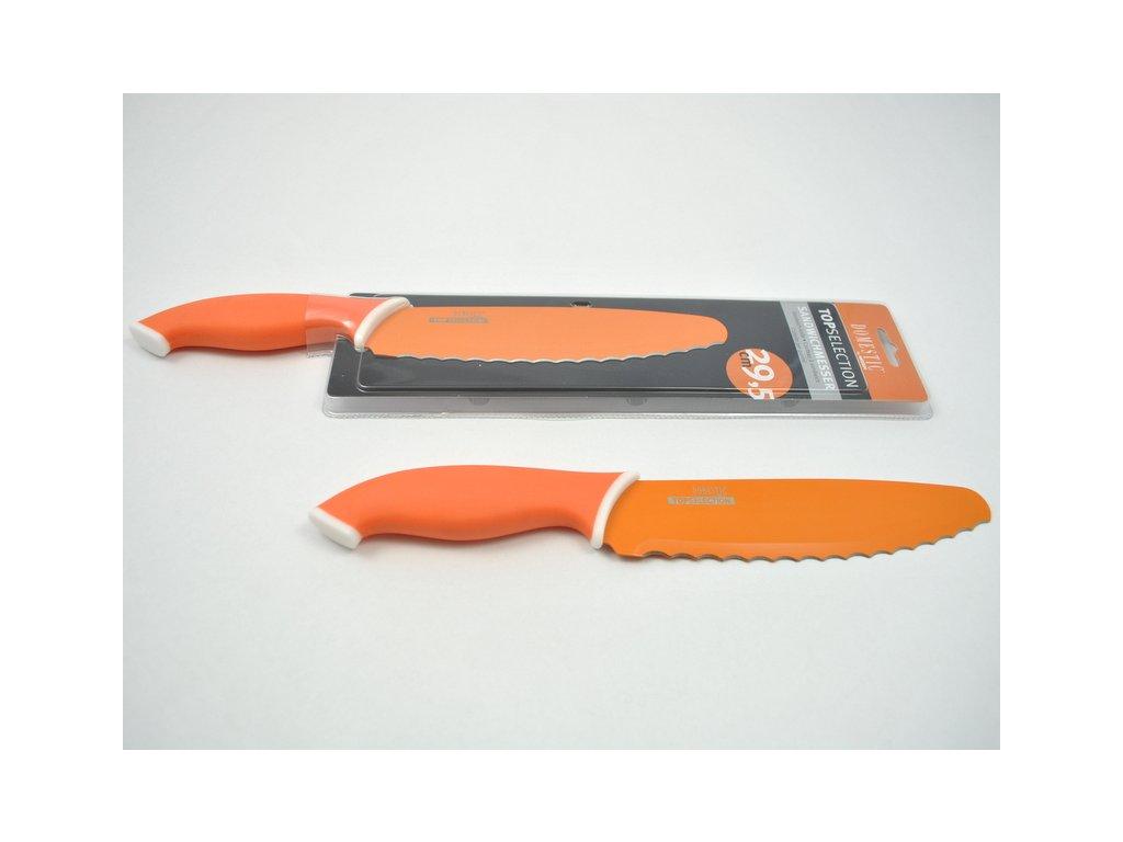 TELESTO Nůž sandwichový oranžový, čepel 17.5 cm
