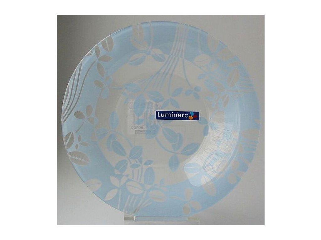COLORINE AZUR Talíř hluboký 21.5 cm dekor