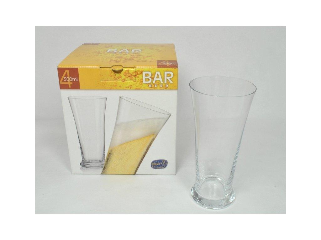 BAR-BEER Pivní sklo, odlivka 30 cl