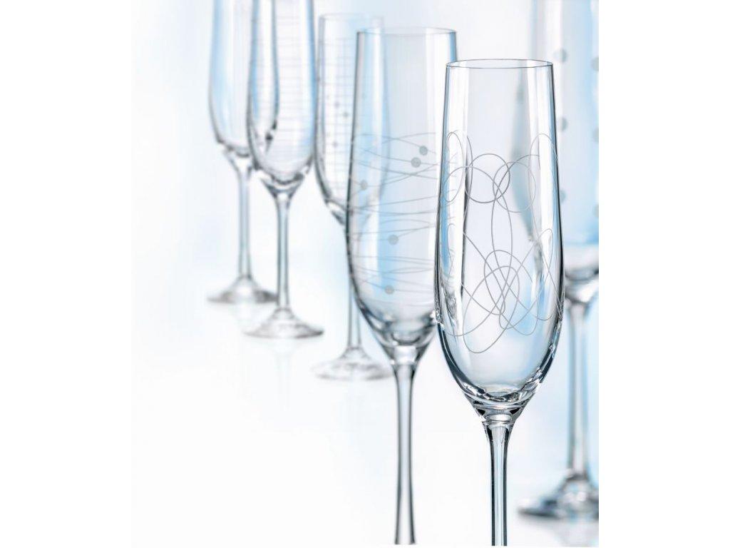 Elements Flétna šampaň 19 cl OKD