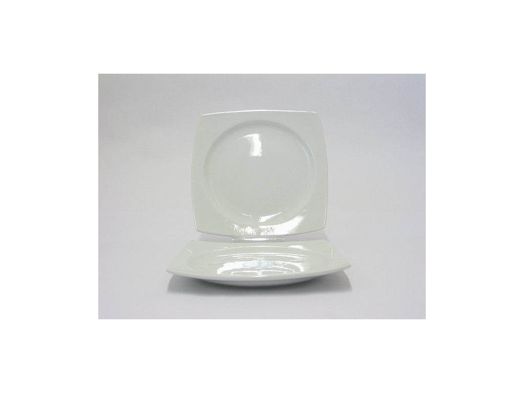 TRENDY WHITE Talíř desertní 21 cm