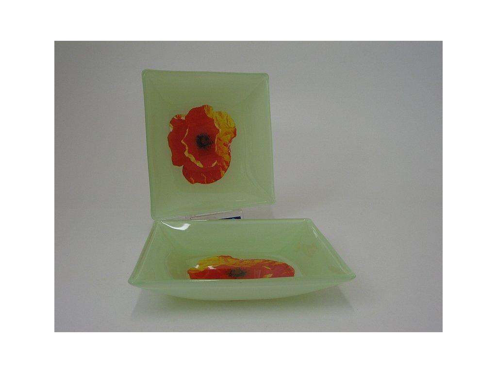 PAPAVERO Talíř hluboký 20 cm dekor