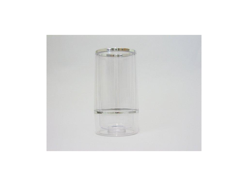 COCKTAIL Chladič na lahve čirý