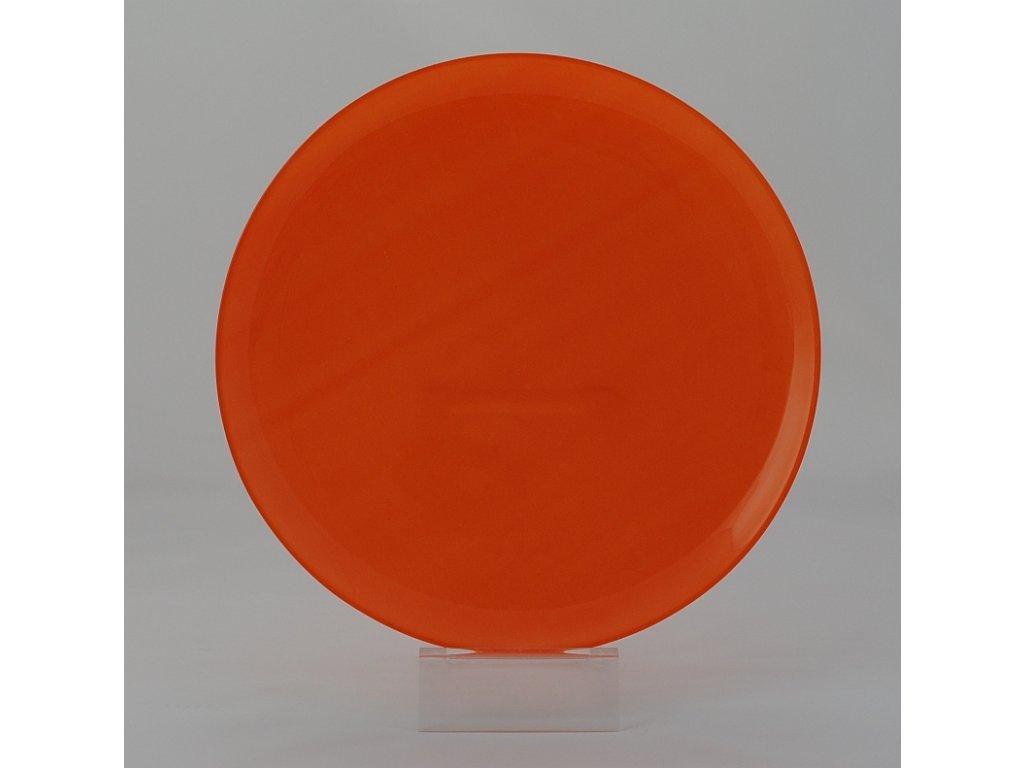 ARTY ORANGE Talíř plochý 25 cm oranžový