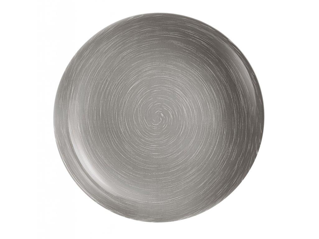 STONEMANIA GREY Talíř hluboký 20 cm dekor