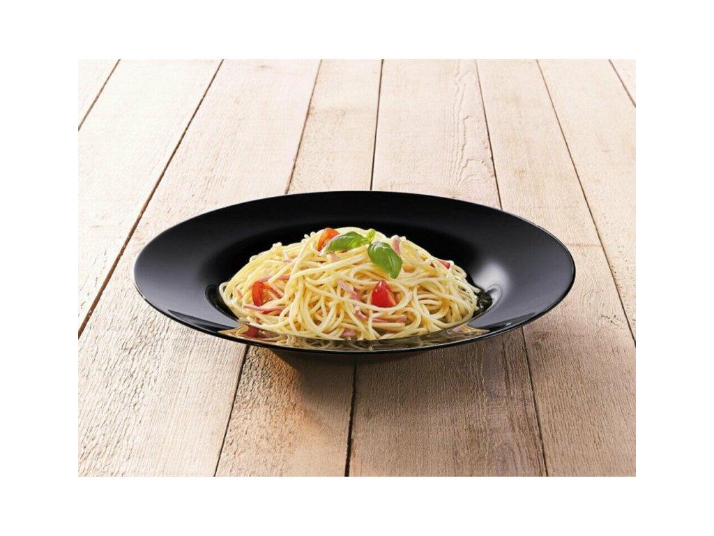 FRIENDS´TIME talíř těstovinový černý 28.5 cm
