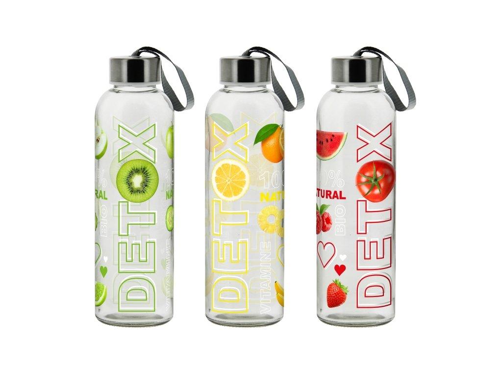 WALKING BOTTLE DETOX lahev 50 cl asort 3 dekorů
