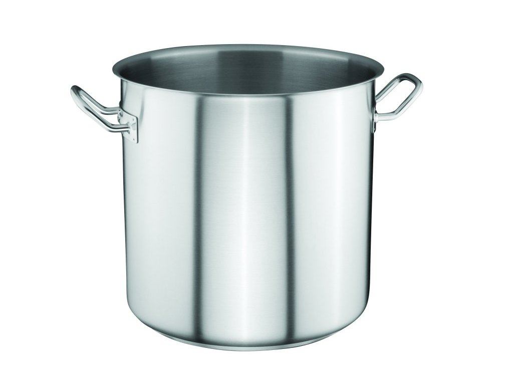 Hrnec na polévku 40x40 cm/47,5 l - nerez mat, indu