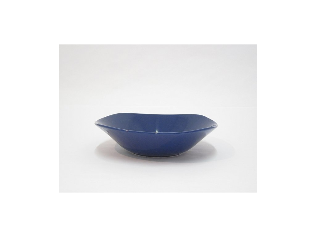 KE Salátová mísa hranatá modrá
