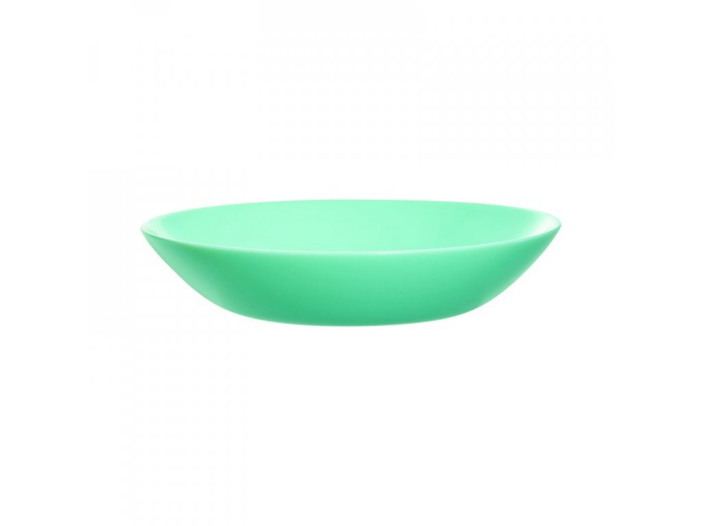 DIWALI LIGHT TURQUOISE talíř hluboký 20 cm