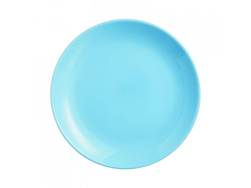 DIWALI LIGHT BLUE talíř plochý 25 cm