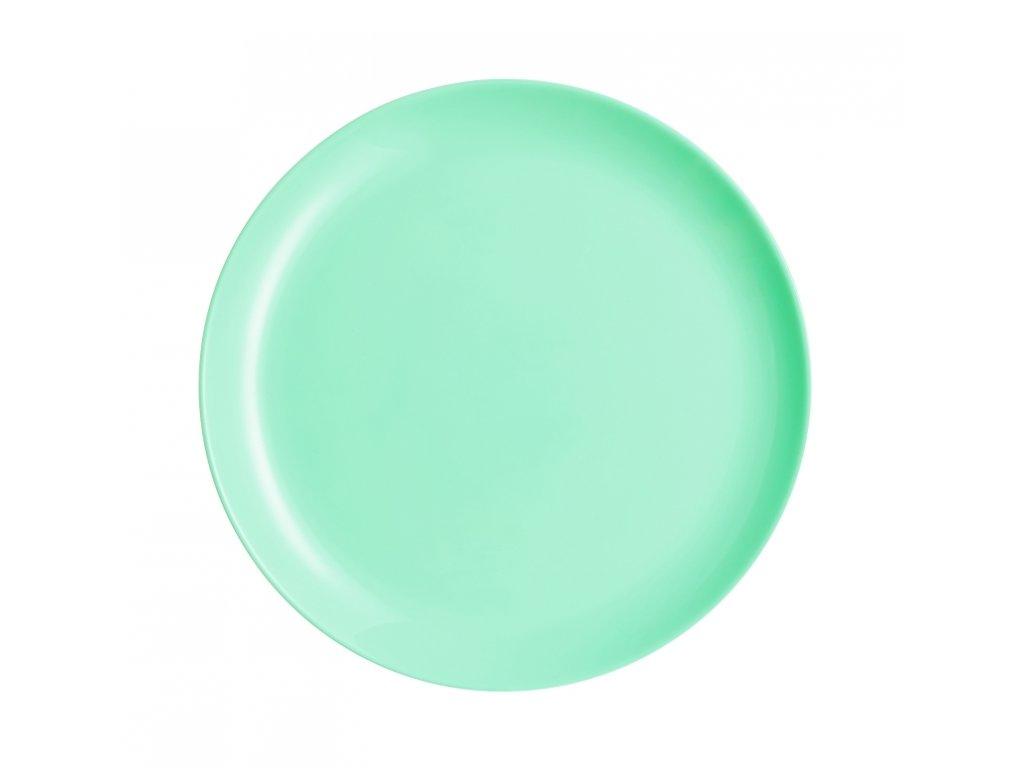 DIWALI LIGHT TURQUOISE talíř plochý 25 cm