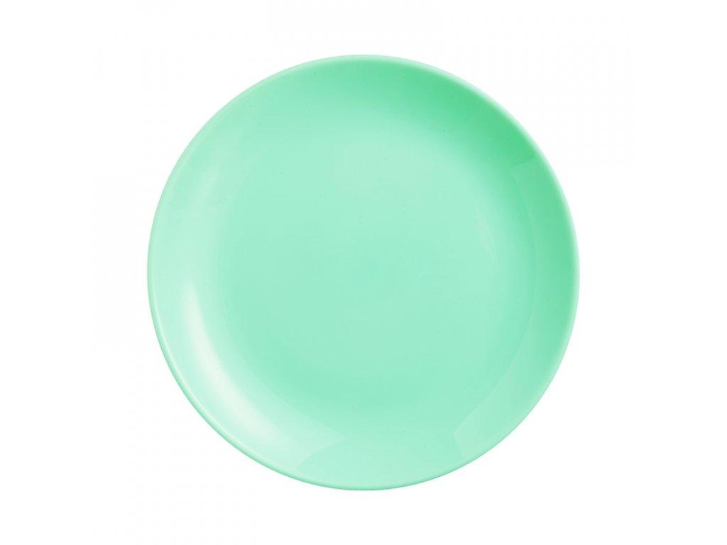 DIWALI LIGHT TURQUOISE talíř desertní 19 cm