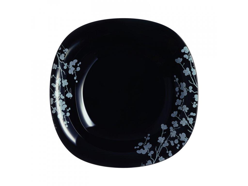 OMBRELLE talíř hluboký černý 21 cm