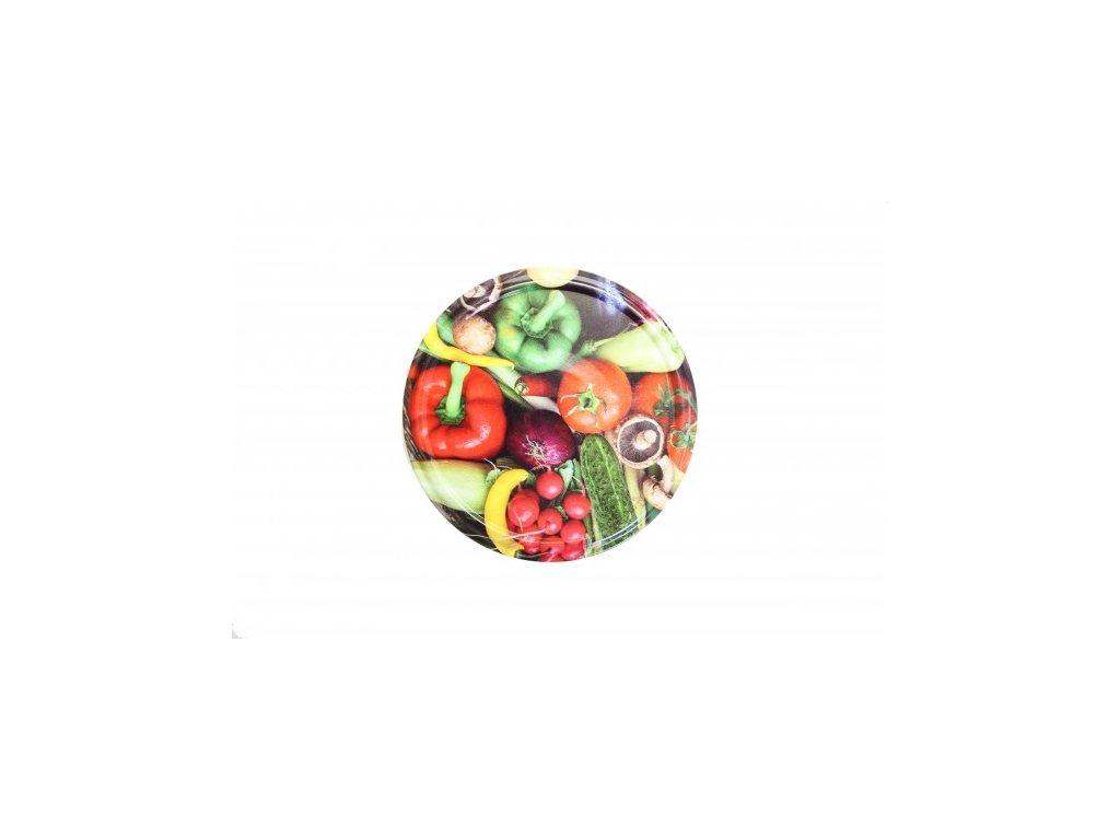 TWIST 66 víčko zavařovací - dekor zelenina