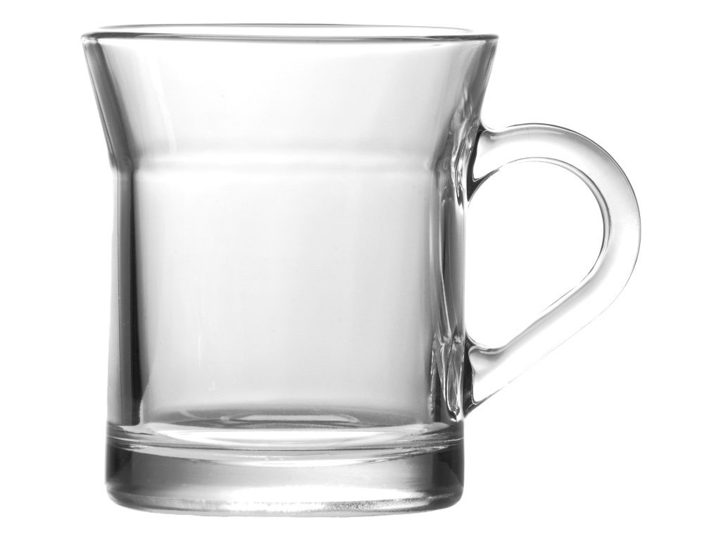 MIAMI Hrnek káva 31.5 cl čirý