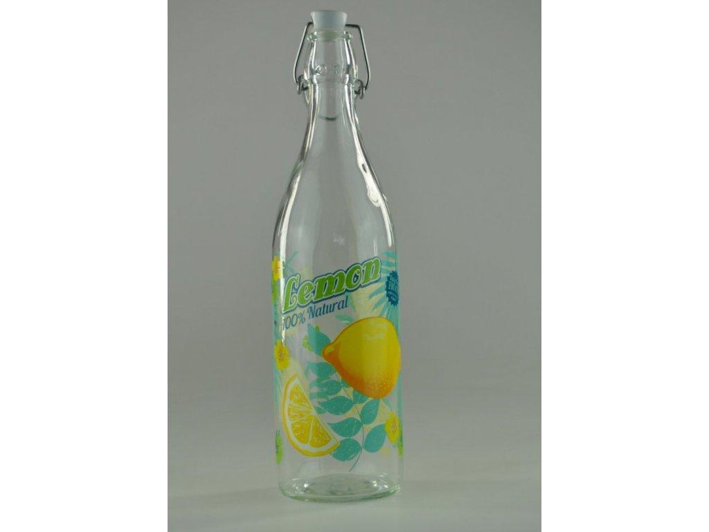 MAUI LEMON lahev 1 l s patentním uzávěrem