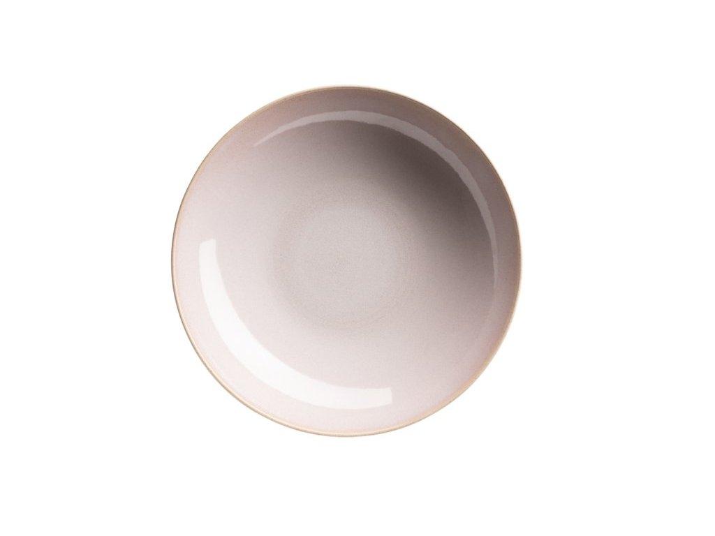 OSSIA talíř hluboký tea rose 22 cm