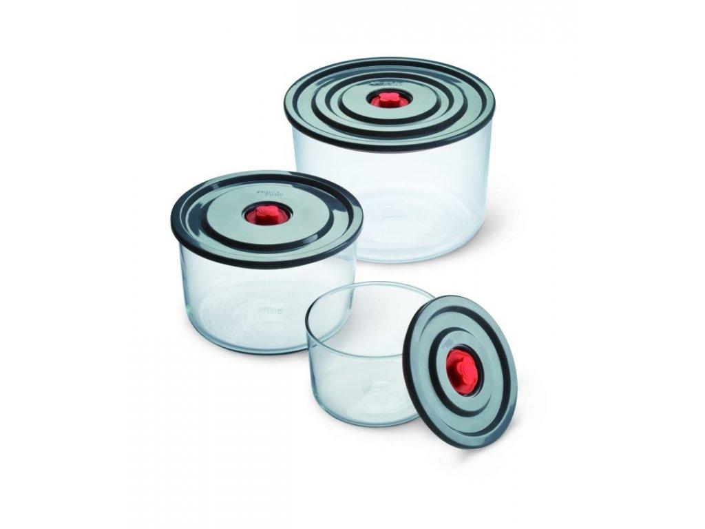 PUMP&PUMP souprava zásobníků 0.35l, 1 l, 2 l 3 ks