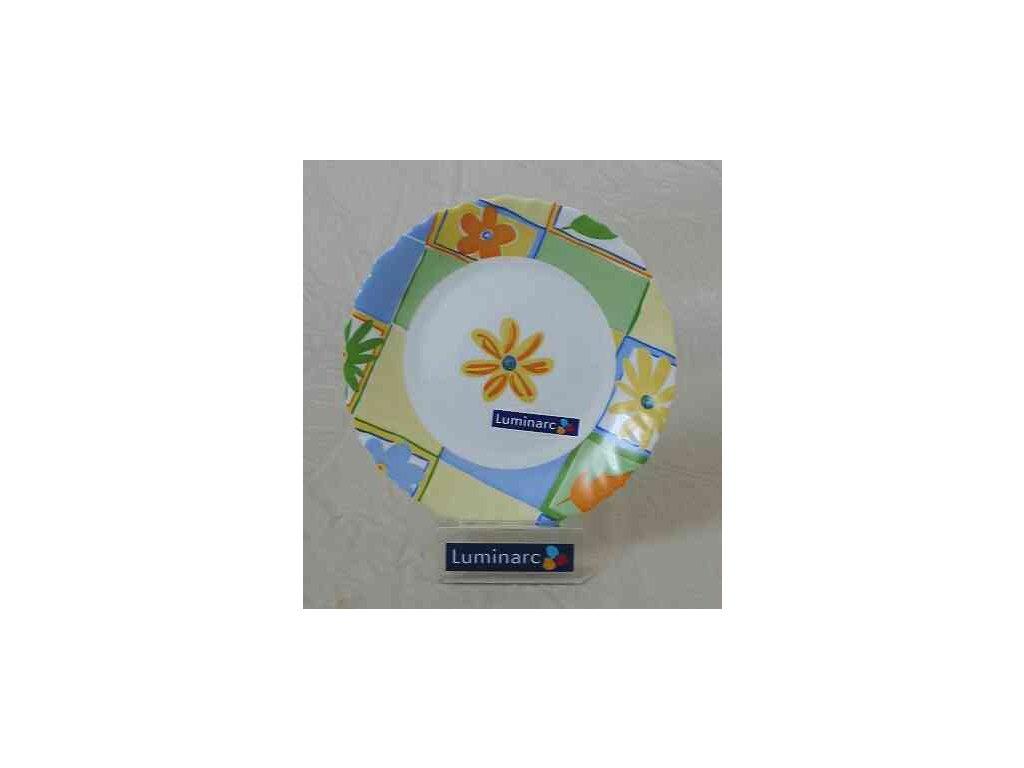 VALENSOLE Talíř hluboký 21 cm dekor