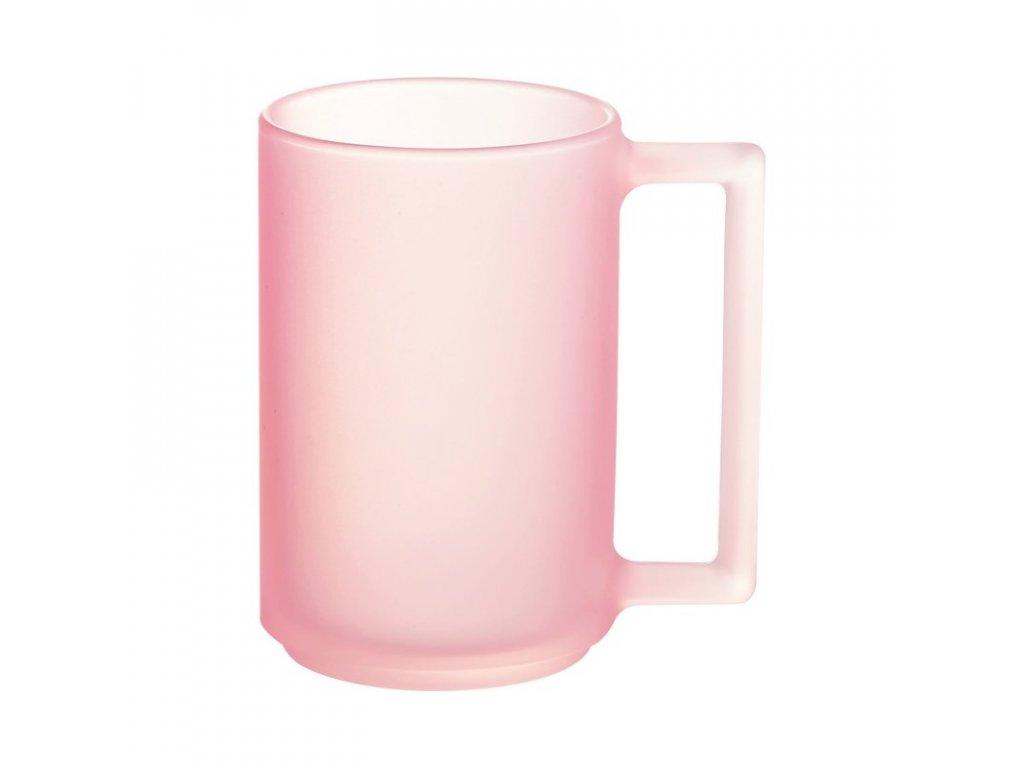 FLORE hrnek růžový 32 cl
