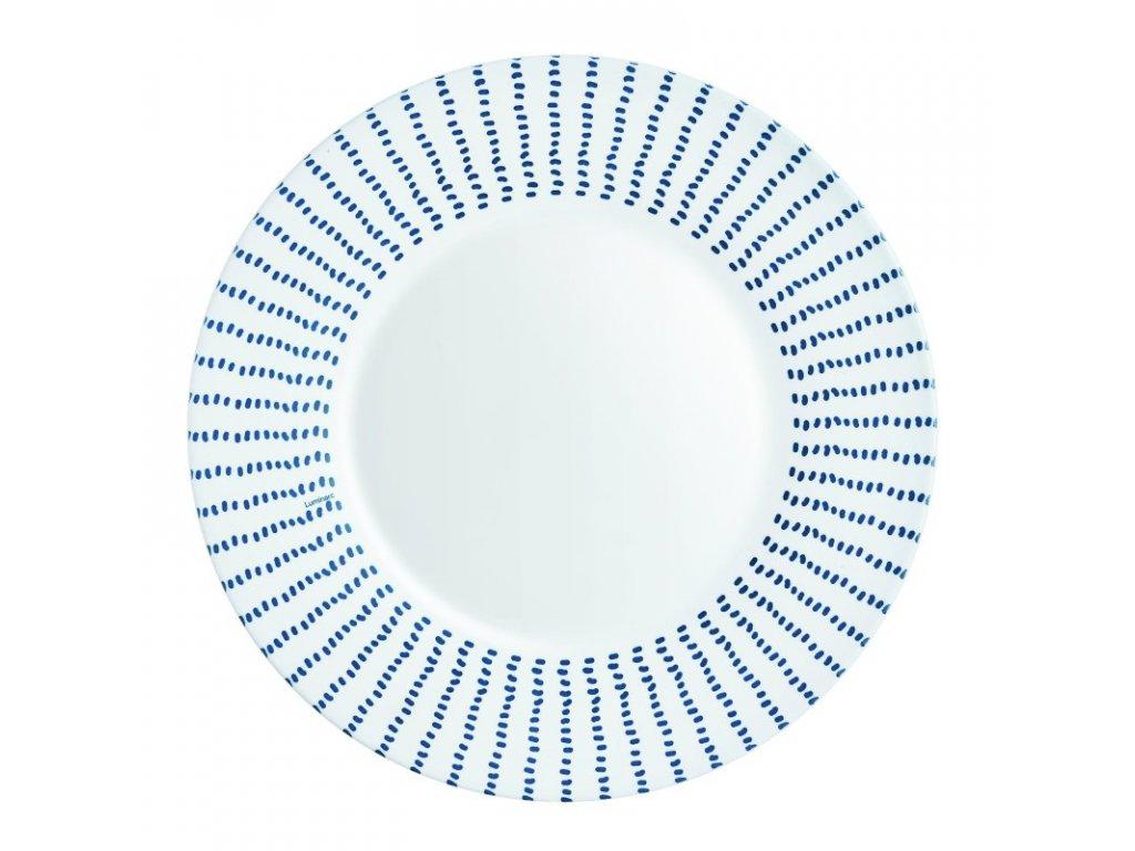 CARIBEENNE BLUE plochý talíř 28 cm