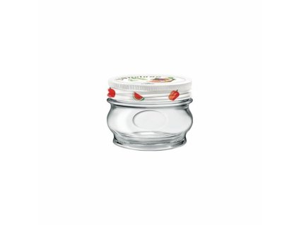 ORTOLANO Zavařovací sklenice 15 cl šroubovací víčk