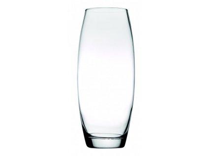 FLORA Váza 26 cm čirá
