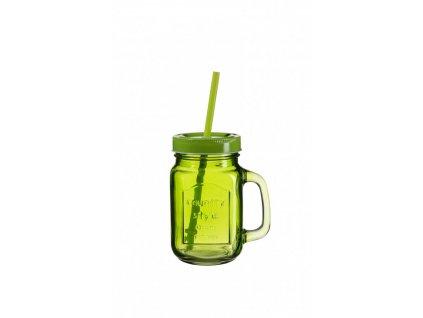SUMMER FUN II sklenice 45 cl ostře zelená,zelené v