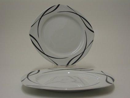 OSLO talíř plochý 25 cm