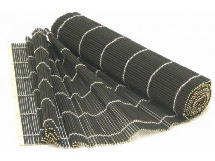 BAMBUS Podložka černá 150x30 cm