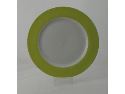FUN NEW GREEN Pizza talíř 30,5 cm dekor