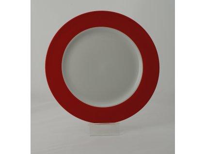 FUN NEW RED Pizza talíř 30,5 cm dekor
