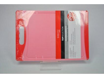 TELESTO Krájecí deska červená 29 x 19.5 cm
