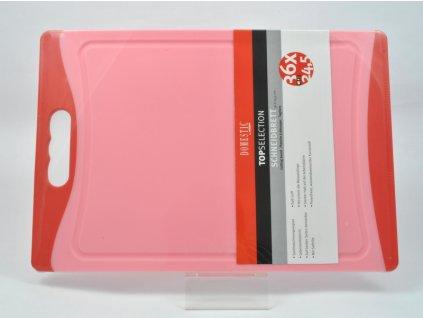 TELESTO Krájecí deska červená 36 x 24.5 cm