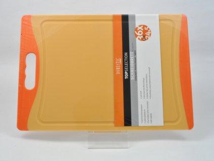 TELESTO Krájecí deska oranžová 36 x 24.5 cm