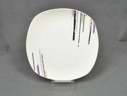 MARGITA Talíř plochý 25 cm dekor