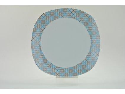 ABIETA Talíř plochý 25 cm dekor