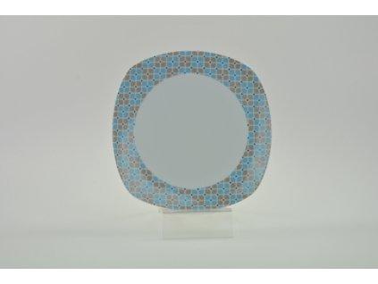 ABIETA Talíř desertní 19 cm dekor