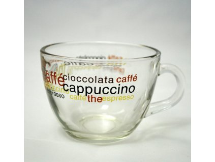 BRAZIL ENIGMISTICA COFFEE Šálek 22.5 cl dekor