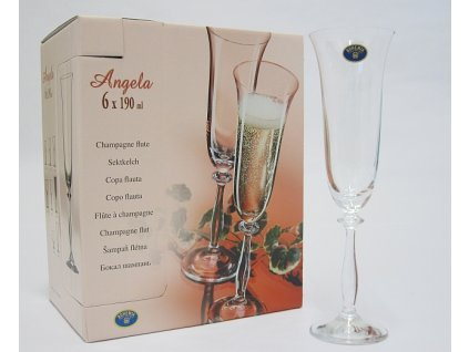 ANGELA Flétna šampań 19 cl OKA