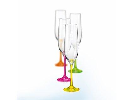 neON Kalíšek šampaňské 19 cl