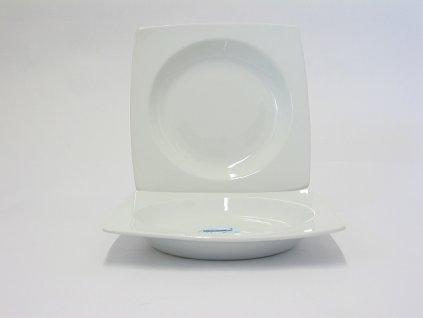 TRENDY WHITE Talíř hluboký 21 cm