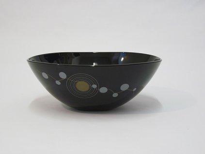 SEQUINS BLACK Mísa 25 cm
